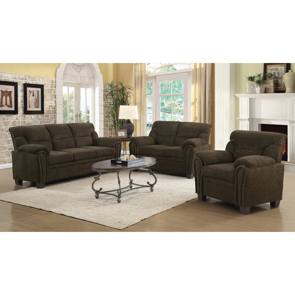 Coaster Clementine Casual Brown Collection-Coaster-Sleeping Giant