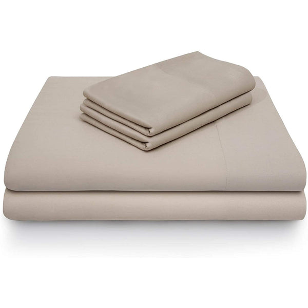 Malouf Rayon From Bamboo Driftwood Pillowcase-Malouf-Sleeping Giant