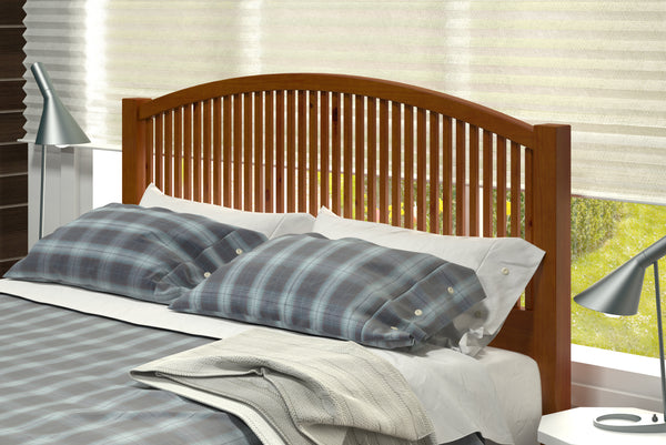 Donco Mission Headboard-Donco-Sleeping Giant