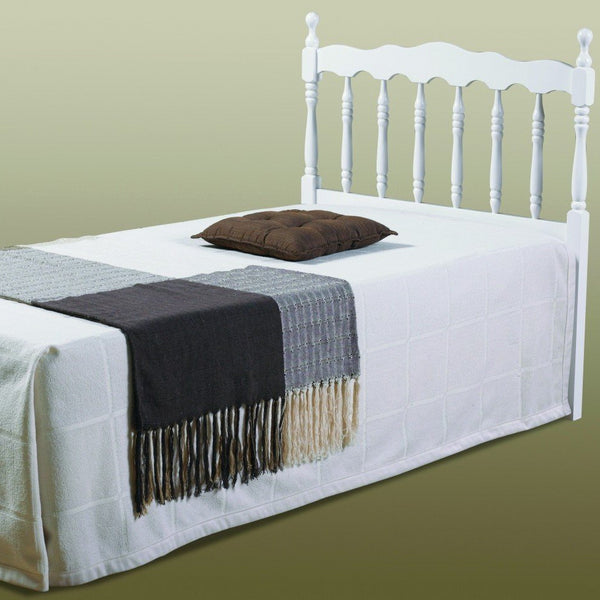 Donco Twin Spindle Headboard-Donco-Sleeping Giant