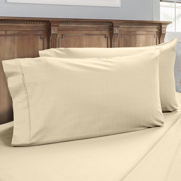 DreamFit 6° Ivory Enhanced Eucalyptus Cotton Pillowcase-Hometex-Sleeping Giant