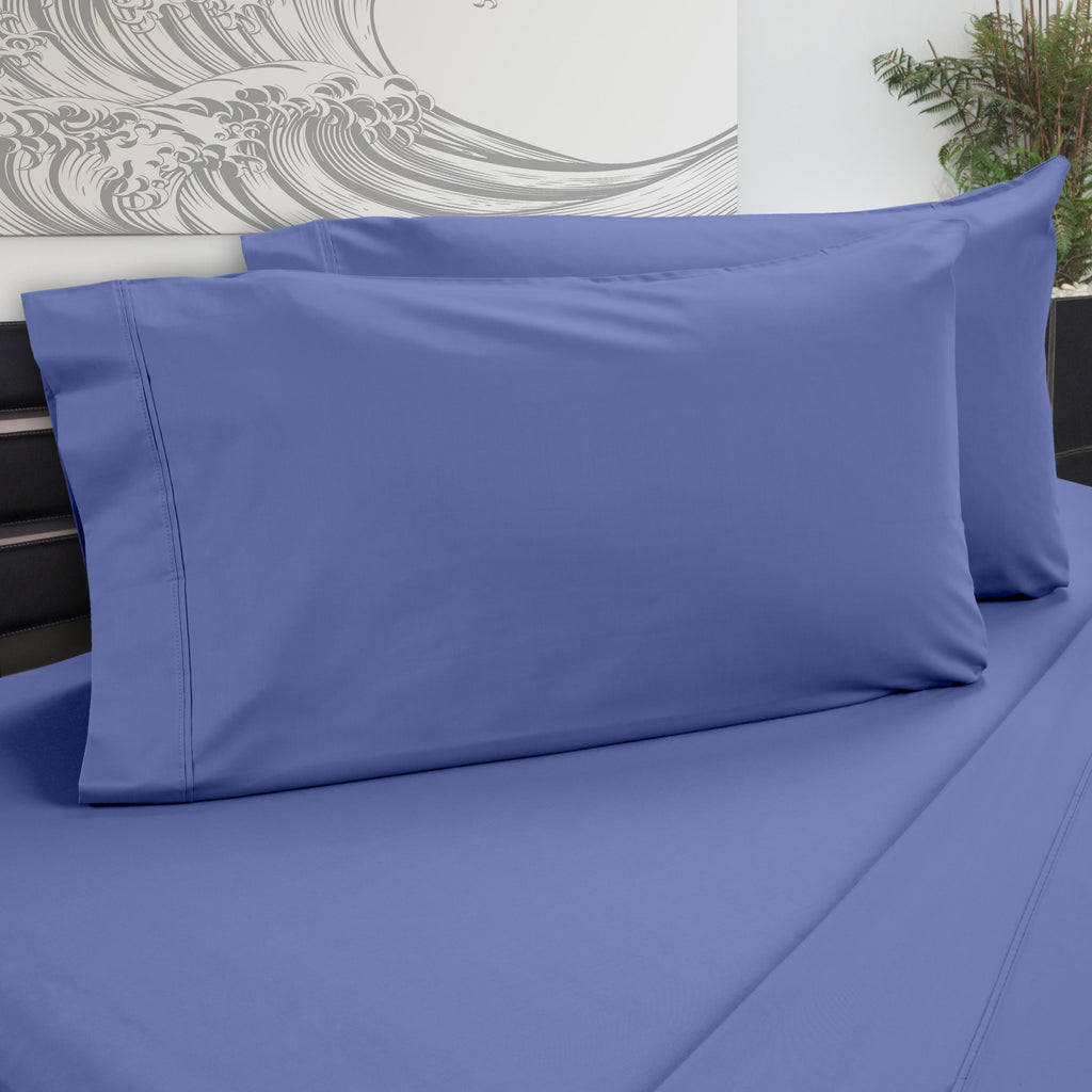 DreamFit 5° Blue Bamboo Pillowcase-Hometex-Sleeping Giant