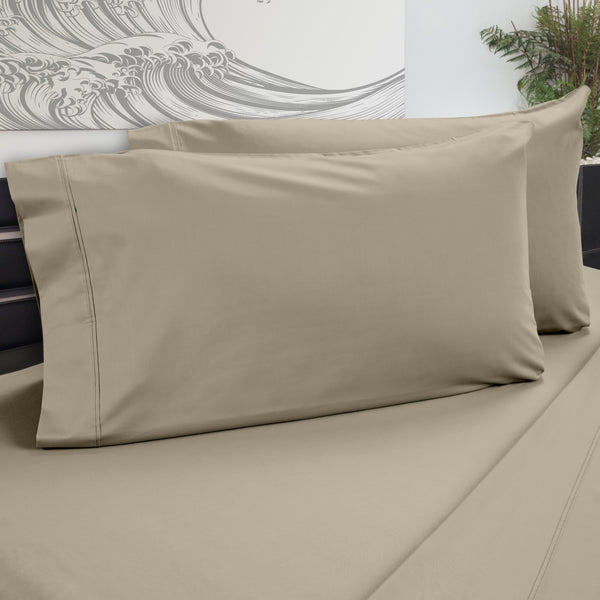 DreamFit 5° Sand Bamboo Pillowcase-Hometex-Sleeping Giant