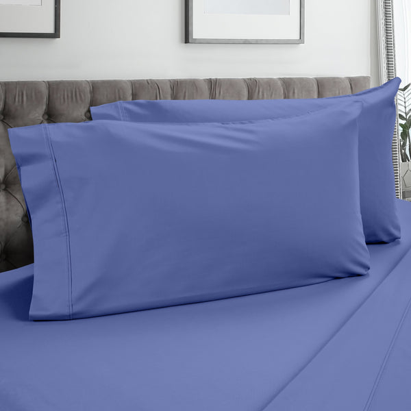 DreamFit 3° Blue 100% Pima Cotton Pillowcase-Hometex-Sleeping Giant