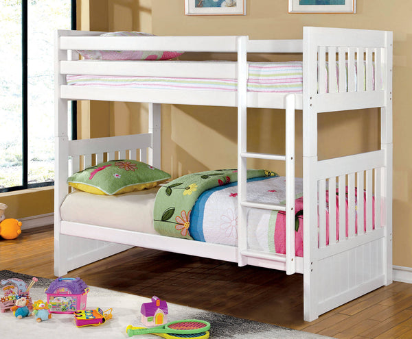 Furniture of America Canberra Bunk Bed-Furniture of America-Sleeping Giant