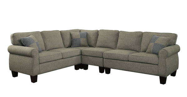 Furniture of America Rhian Sectional-Furniture of America-Sleeping Giant