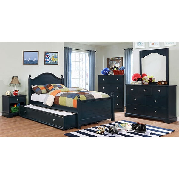 Furniture of America Diane Collection in Blue-Furniture of America-Sleeping Giant