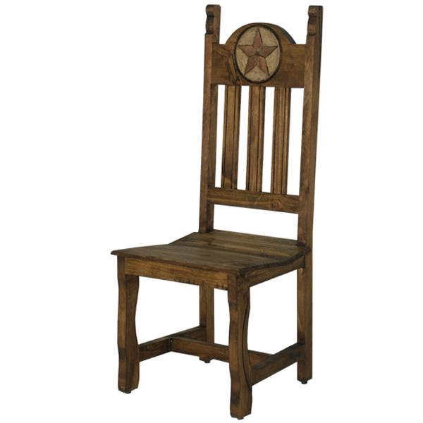 LMT Dining Chair with Wood Seat & Stone Star-LMT-Sleeping Giant