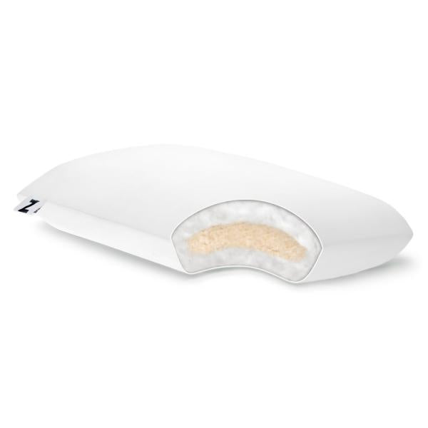 Malouf Shredded Latex + Gelled Microfiber® Pillow-Malouf-Sleeping Giant