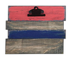 COOP Wooden Multi Striped Clip Board-COOP-Sleeping Giant