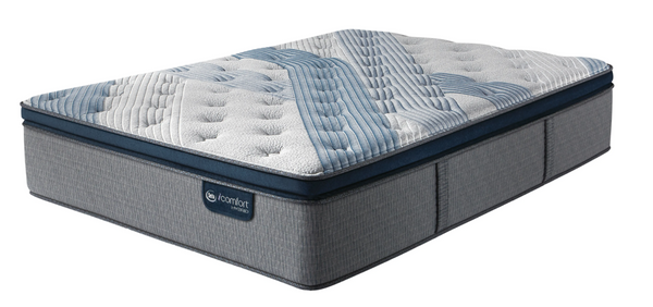 Serta® iComfort® Hybrid Blue Fusion 4000 Plush Pillow Top-Serta-Sleeping Giant