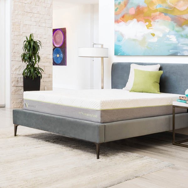 "Malouf Wellsville 11"" Latex Hybrid Mattress-Malouf-Sleeping Giant"