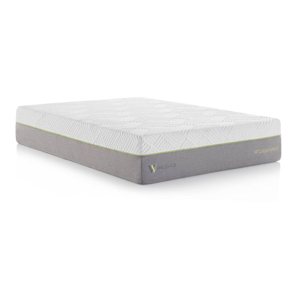 "Malouf Wellsville 14"" Latex Hybrid Mattress-Malouf-Sleeping Giant"
