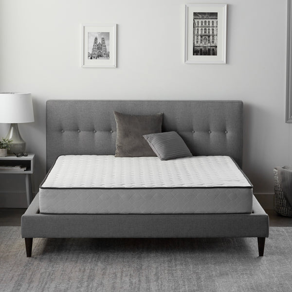 "Malouf Weekender 8"" Luxury Firm Hybrid Mattress-Malouf-Sleeping Giant"