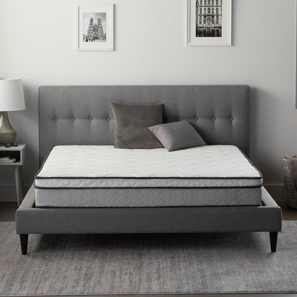 "Malouf Weekender 8"" Plush Hybrid Mattress-Malouf-Sleeping Giant"