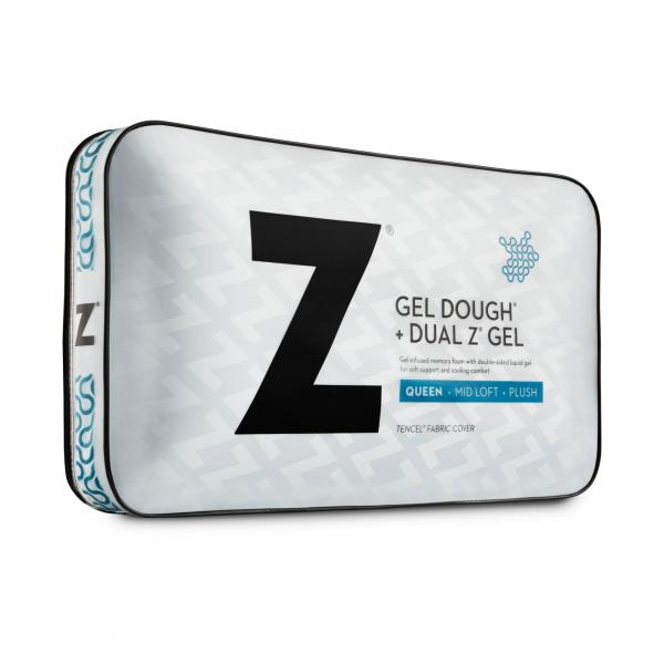 Malouf Dough® + Dual Z™ Gel Pillow-Malouf-Sleeping Giant