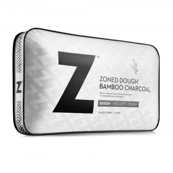 Malouf Zoned Dough® + Bamboo Charcoal Pillow-Malouf-Sleeping Giant