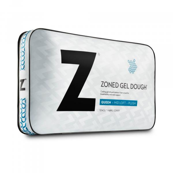 Malouf Zoned Gel Dough® Pillow-Malouf-Sleeping Giant