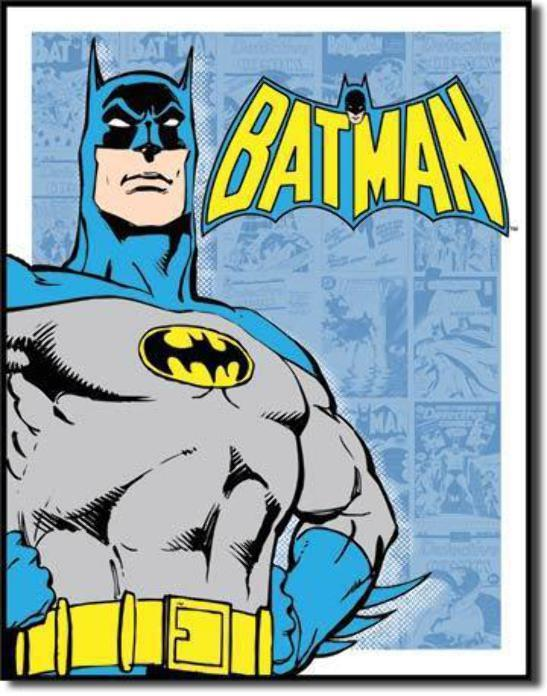 Batman Detective Comics Tin Wall Sign-Rainbow-Sleeping Giant