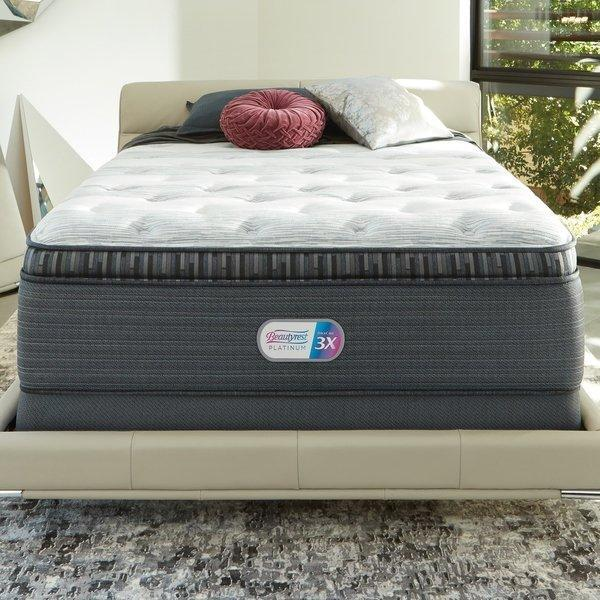 Beautyrest Platinum Gladstone Peak Plush Pillow Top-Simmons-Sleeping Giant