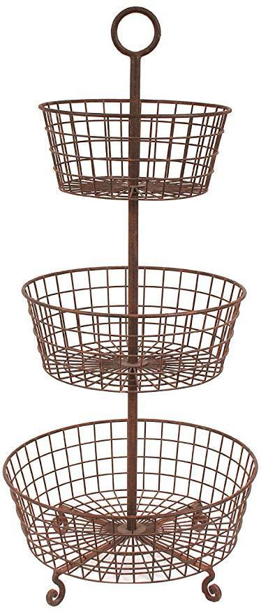 Coop Three Tier Basket-COOP-Sleeping Giant