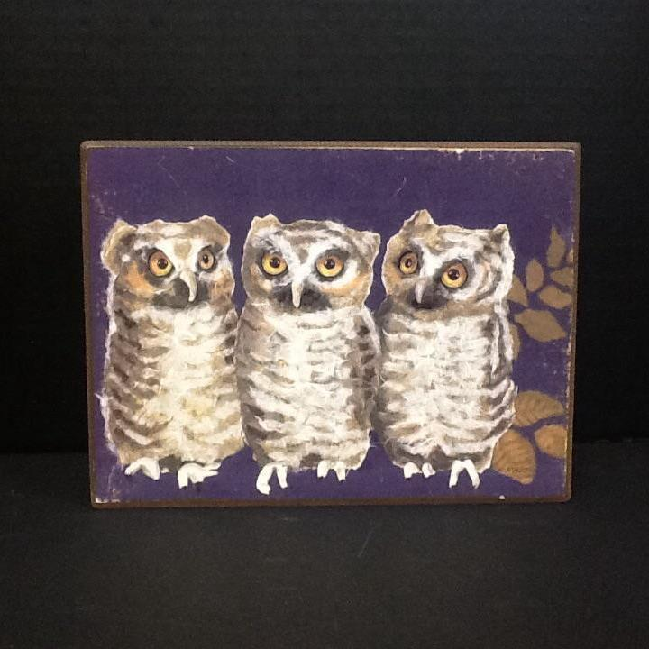 Coop Animal Box with Owls-COOP-Sleeping Giant