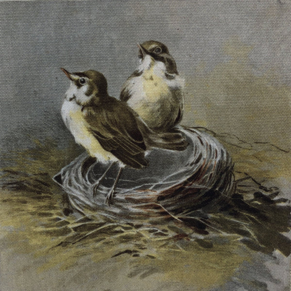 Coop Birds In Nest Wall Art-COOP-Sleeping Giant