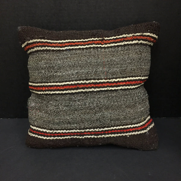 COOP Burlap Small Striped Pillow-COOP-Sleeping Giant