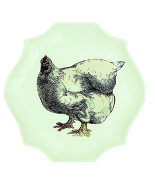 COOP Chicken Small Serving Plate-COOP-Sleeping Giant