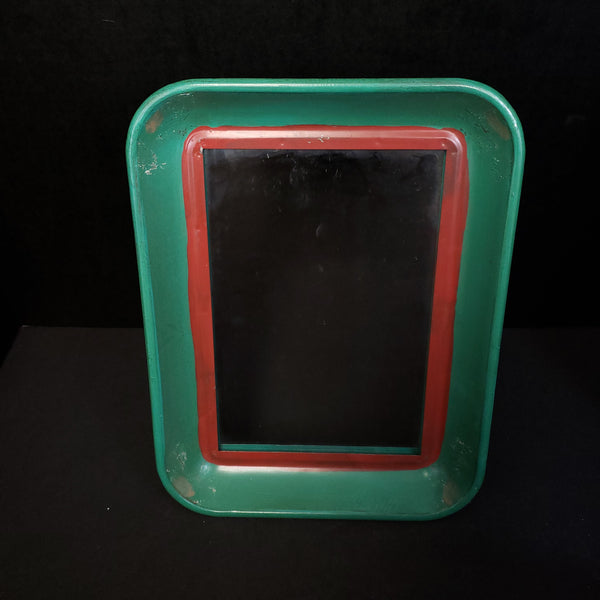 COOP Green And Red Tin Mirror-COOP-Sleeping Giant