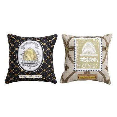 COOP Honey Bee Throw Pillow-COOP-Sleeping Giant