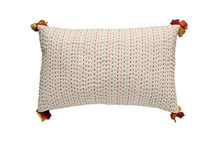 COOP Kantha Stitch Pillow-COOP-Sleeping Giant