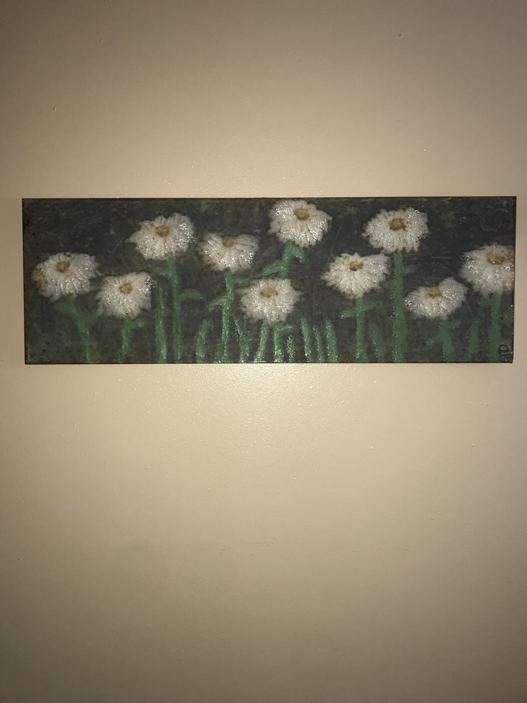 "COOP Metal Flowers in a Field Wall Art 35"" X 12""-COOP-Sleeping Giant"