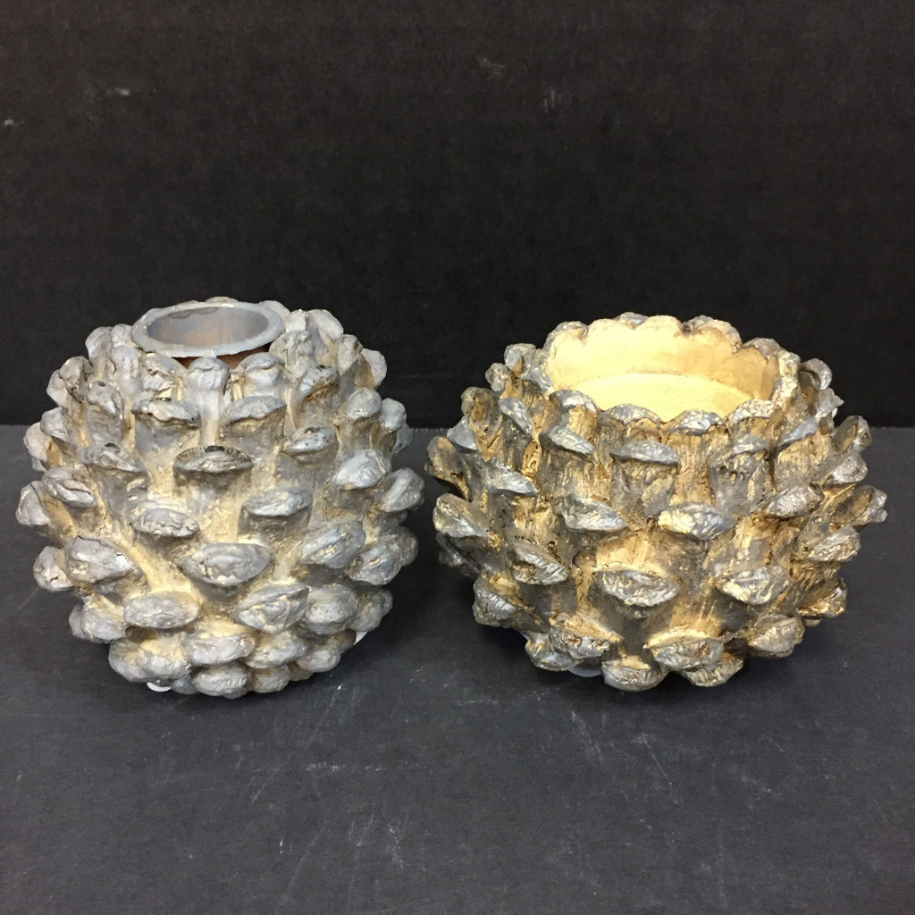 COOP Pine Cone Candle Holder-COOP-Sleeping Giant