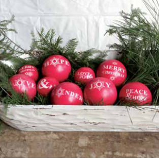 Coop Round Wood Holiday Balls (Set Of 9)-COOP-Sleeping Giant
