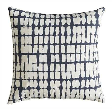 COOP Square Cotton Pillow Indigo-COOP-Sleeping Giant