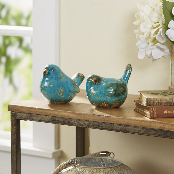 COOP Turquoise Ceramic Bird-COOP-Sleeping Giant