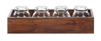 COOP Wood Box W/ Jars-COOP-Sleeping Giant