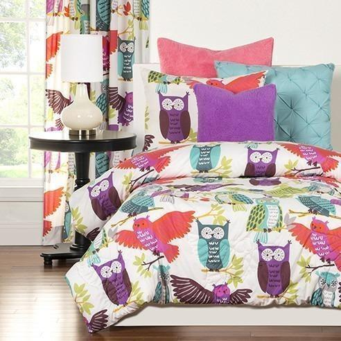 Crayola Comforter Set Full/Queen Owl Always Love You-SIS COVERS-Sleeping Giant