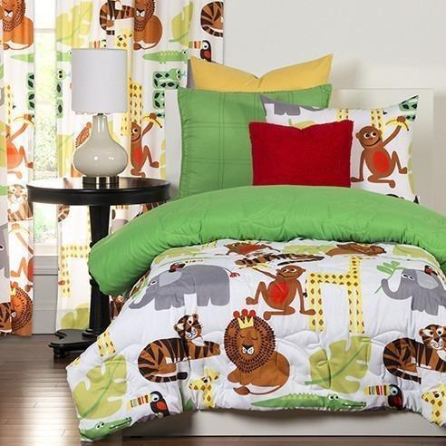 Crayola Comforter Set Twin Jungle Love-SIS COVERS-Sleeping Giant