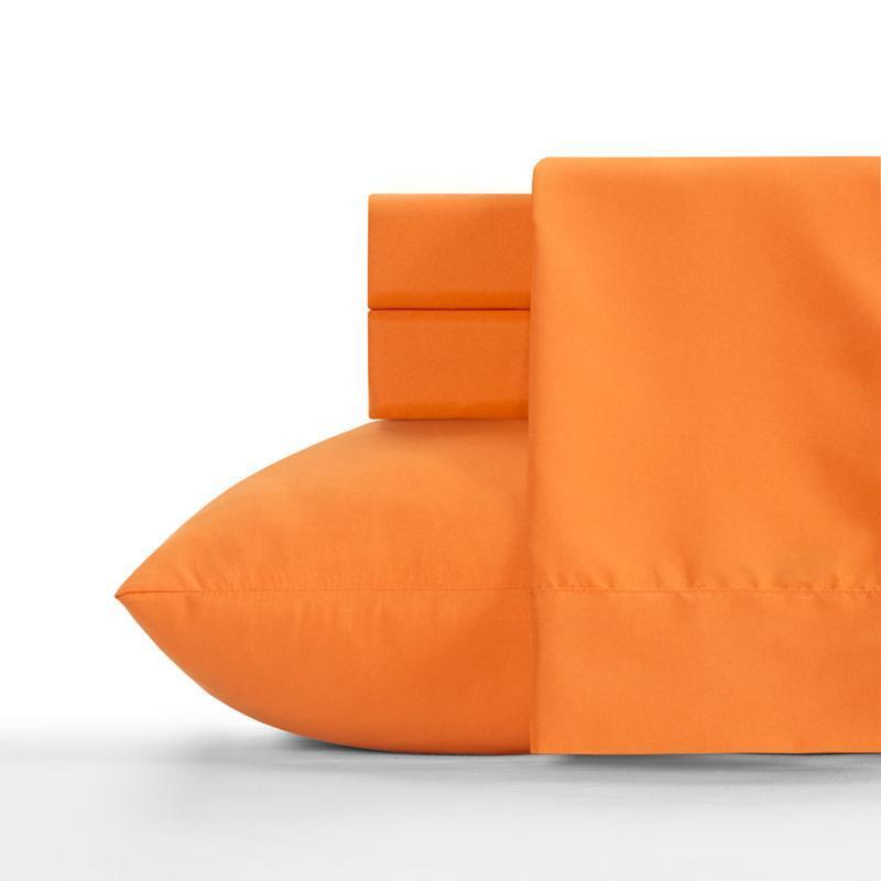 Crayola Sheet Set Twin Outrageous Orange-SIS COVERS-Sleeping Giant