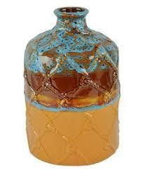 DeLeon Canyon Sunset Bottle Neck Vase-DeLeon-Sleeping Giant