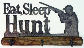 DeLeon Eat, Sleep, Hunt Wall Hook-DeLeon-Sleeping Giant