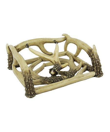 Deleon Faux Antler Napkin Holder-DeLeon-Sleeping Giant