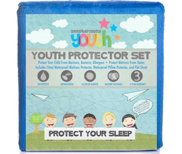 Glideaway Twin Blue Youth Protector-Glideaway-Sleeping Giant