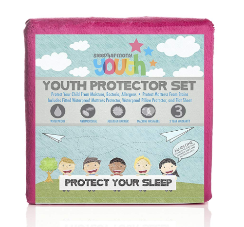 Glideaway Twin Pink Youth Protector-Glideaway-Sleeping Giant