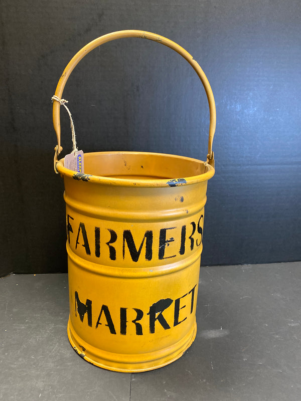 UMA Farmers Market Yellow Bucket-UMA-Sleeping Giant