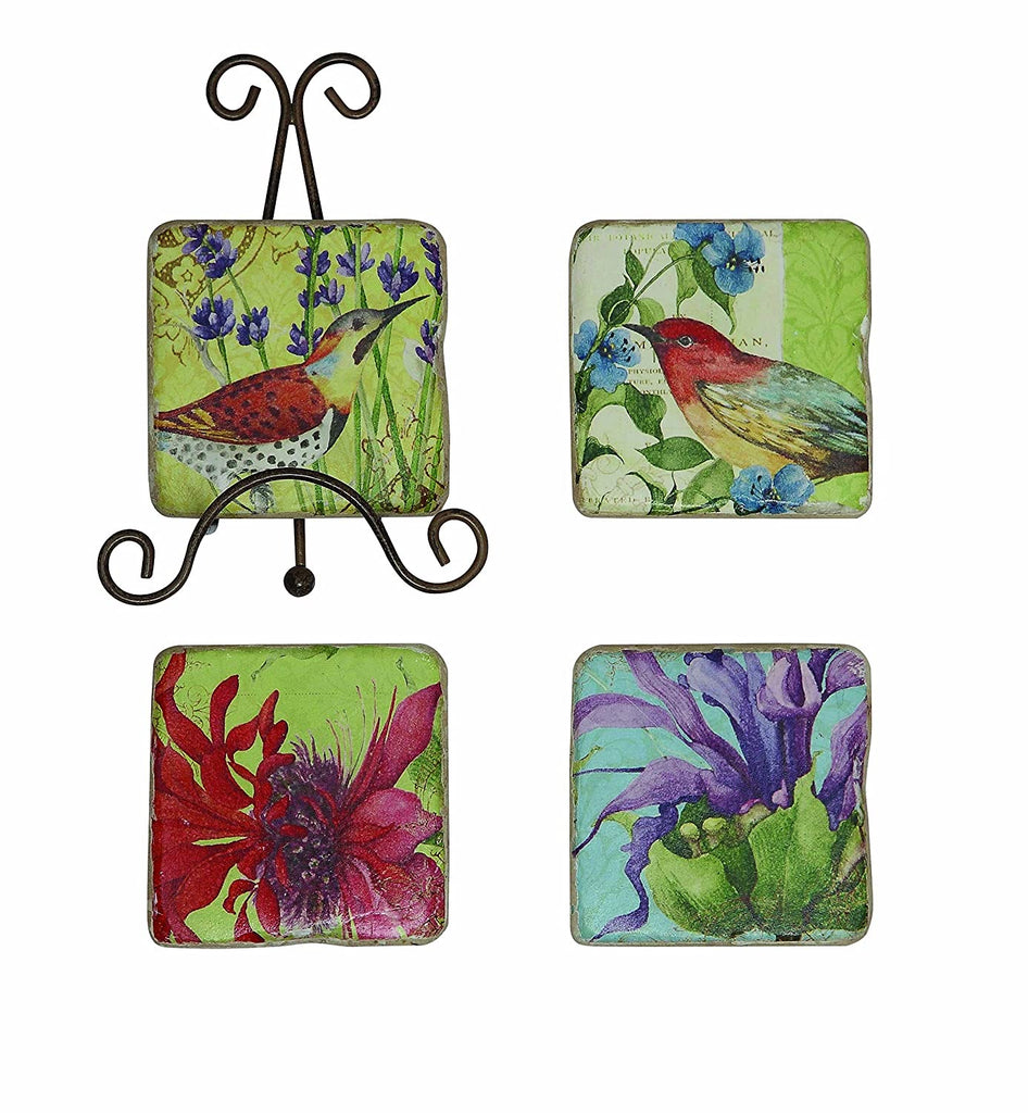COOP Flowers Coaster Set-COOP-Sleeping Giant