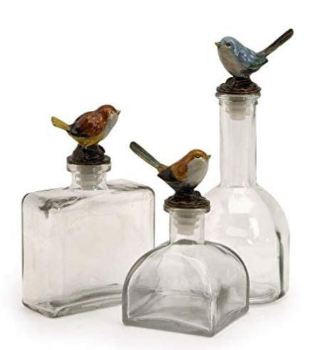 IMAX Bird Bottle Decor-IMAX-Sleeping Giant