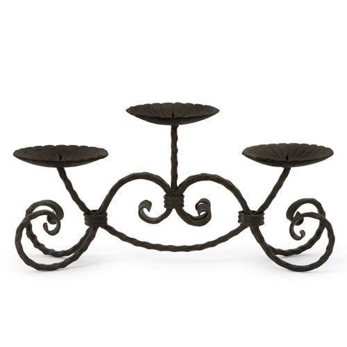 IMAX Cast Iron Candle Stand-IMAX-Sleeping Giant